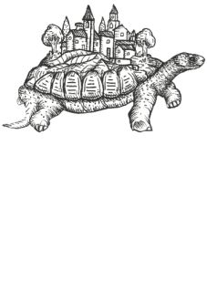 maglietta turtle-village