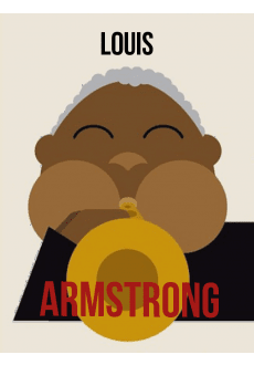 maglietta Louis Armstrong