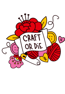 maglietta craft or die
