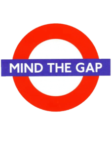 maglietta mind the gap