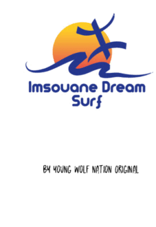 maglietta Dream Surf Imsouane