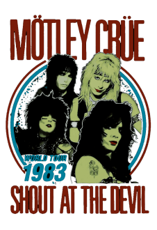 maglietta Motley Crue - Shout at the Devil