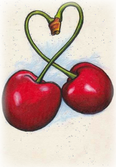 maglietta #loveandcherries