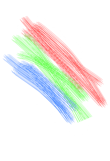 maglietta Hexagons RGB