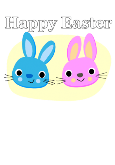 maglietta Fun Happy Easter t-shirt
