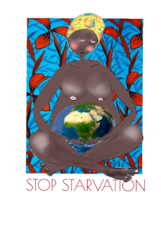 maglietta Stop Starvation