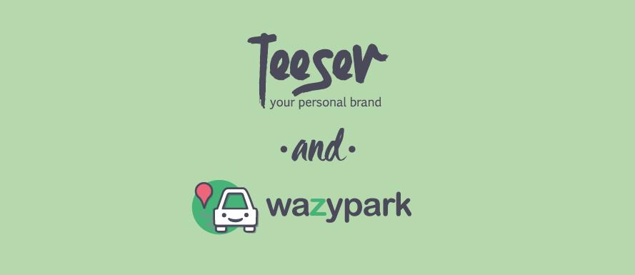 Wazypark e Teeser partnership community T-shirt personalizzate