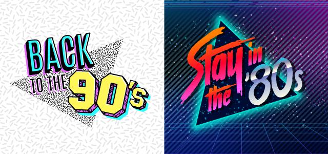 Icone degli anni '80 '90