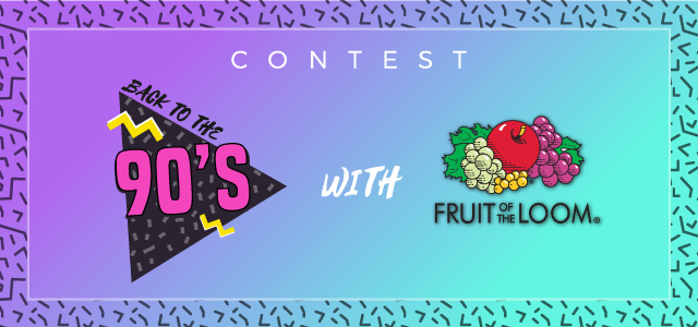 'Fruit Of the Loom' contest con Teeser