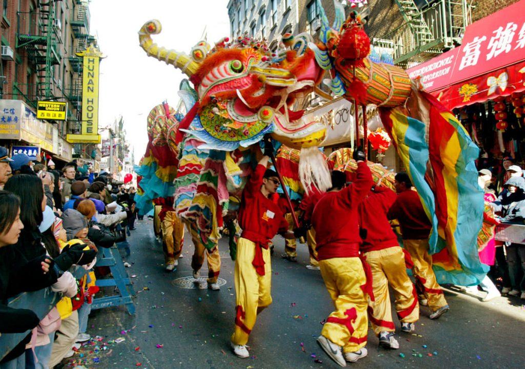 dragone Capodanno cinese