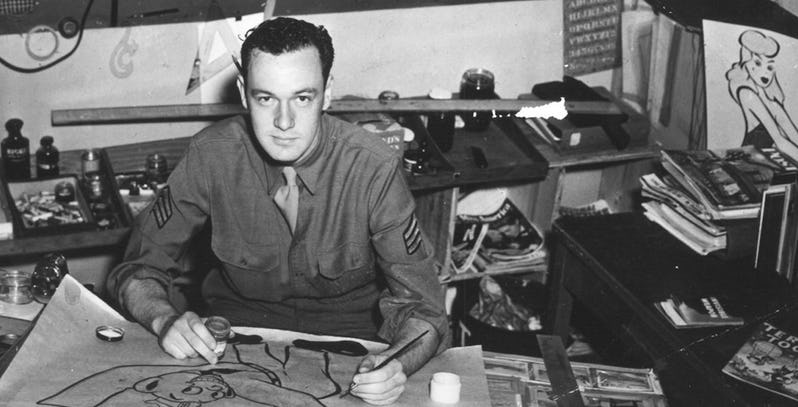 Stan Lee World War II army